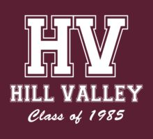 Hill Valley High School Class of 1985 by waywardtees