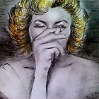 Smoking Marilyn  by Manana11