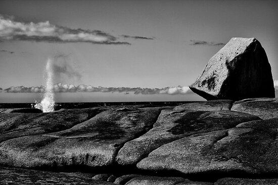 There she blows_Bicheno Blow Hole by Sharon Kavanagh