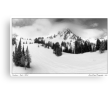 Snowbasin Canvas Print