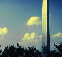 Leg of the Gateway Arch, St. Louis, Missouri, 1982 by Dwaynep2010