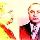 Al Capone mugshot by inkDrop