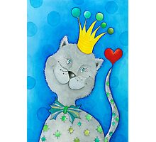 King of Cats Photographic Print