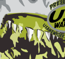 shark usa warriors by rogers bros Sticker