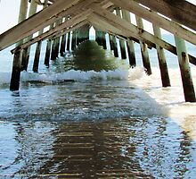 Under The Sunset Pier by Cynthia48