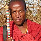 Maasai junior elder by Linda Sparks