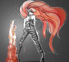 Rainbow Punk: Flame Funk by Barbora  Urbankova