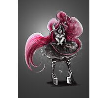 Rainbow Punk: Pinky Punk Photographic Print