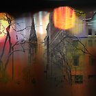City Lights, Newbury Street by Doug Wilkening