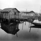 Makoko Houses on Slit by Muyiwa