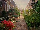 Philadelphia Courtyard - Symphony of Springtime Gardens by MotherNature