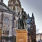 Adam Smith & St Giles Cathedral by Christine Smith