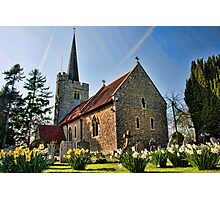 St Margarets Church, Barming Photographic Print