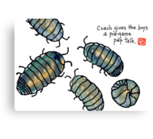 fifa world cup: armadillidiidae league (episode 1) Canvas Print