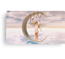 Moon Angel Canvas Print