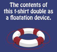 Floatation Device by Christopher Muggridge