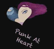 Purple Punk At Heart by Brinjen
