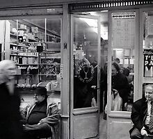 A moment in time, Rue Moufftard, Paris by Andrew Jones