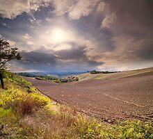 Asciano, Tuscany by Fabio Catapane