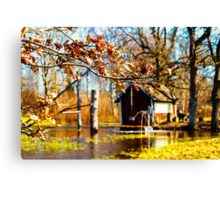 The Witch's Well Canvas Print