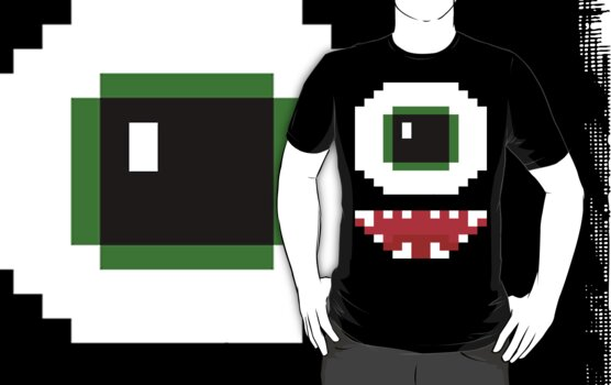 8- Bit Cyclops by mandoburger