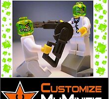 Customize My Minifig Collector Card 4 - Custom LEGO® 'Doctor Toxic' by Chillee