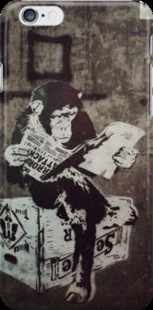 Monkey Terrorist by robob