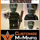 Customize My Minifig Collector Card 10 - Custom LEGO® 'Frankenstein's Monster' by Chillee