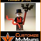 Customize My Minifig Collector Card 12 - Custom LEGO® 'Voodoo Priest' by Chillee