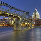 Saint Paul's across the river by Stacey  Purkiss