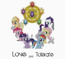 The Mane 6 - Love & Tolerate by SoloBron3
