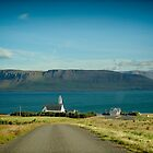 Crazy views of Iceland,  Saurbær. by Cappelletti Benjamin