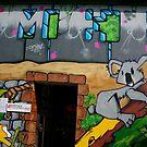 Paris Graffiti by Louise Fahy