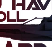 Hard Six Sticker