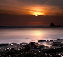 Saltwick Bay in the morning by Svetlana Sewell