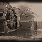 water wheel  by Jamie McCall