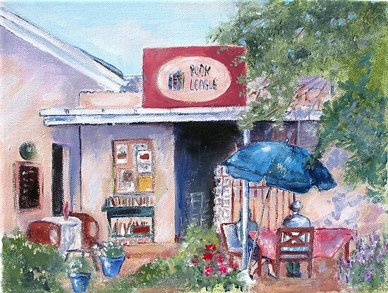 Little Pink Coffee House by Marie Theron