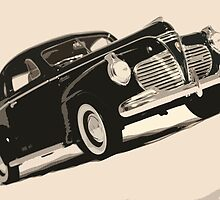 old car pop-art V by ARTistCyberello