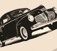 old car pop-art V by ARTistCyberello