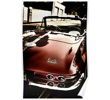 Oldtimer Stingray HDR Poster