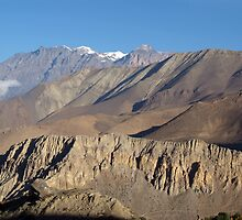 Scenery from Road to Jomsom by SerenaB