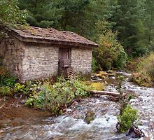 Stone Building by River near Chame by SerenaB