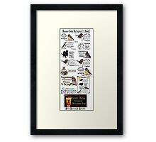✿⊱╮ BANNERS USED ON REDBUBBLE CREATED BY RAPTURE ✿⊱╮ Framed Print