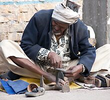 Alwar Shoemaker by phil decocco