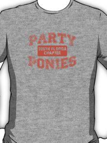 Party Ponies - Orange T-Shirt