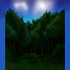 Forest edge by MirrorTetraStar