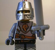 LEGO® Kingdoms Minifig Lion Knight Armor with Lion Head and Belt, by 'Customize My Minifig' by Chillee