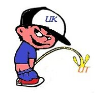 uk peeing on ut by Sparks101