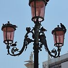 Lamp in Venice by tracyannjones