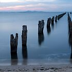 Clifton Springs Jetty by John Sharp